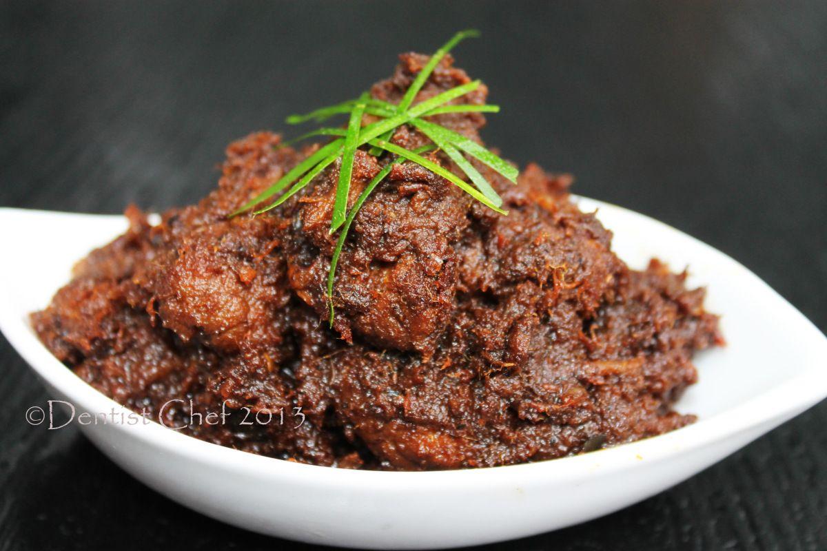Indonesian Beef Rendang Recipe Resep Rendang Padang Khas