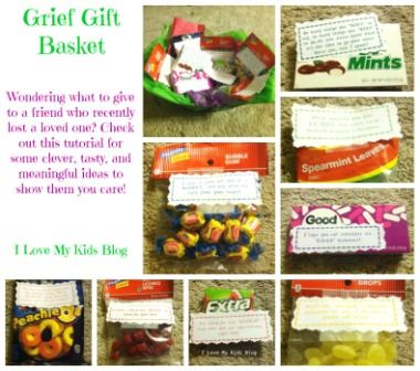 Diy grief gift basket tutorial what to give a friend when they l diy grief gift basket tutorial what to give a friend when they lose a loved one solutioingenieria Choice Image