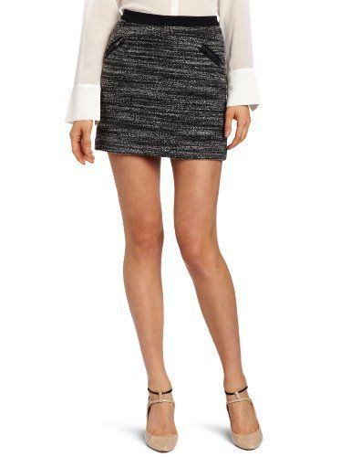 Rebecca Taylor Women's Boucle Skirt Rebecca Taylor. $222.75. Dry Clean Only. Made in China. Shell: 33% Acrylic/31% Viscose/14% Polyester/14% Wool/8% Alpaca; Contrast: 75% Polyester/20% Rayon/5% Spandex; Contrast: 100% Genuine Leather. Holiday 2012 Collection. Zippered Front Pockets