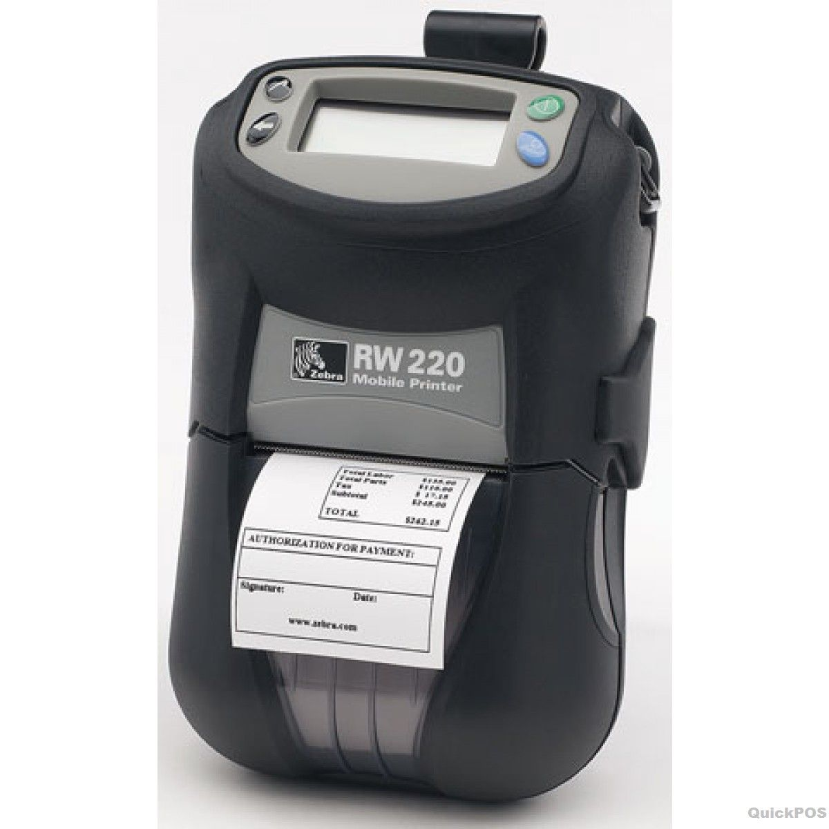 Zebra Road Warrior 2' Label Printer Bt 203 Dpi Cpcl With Zpl