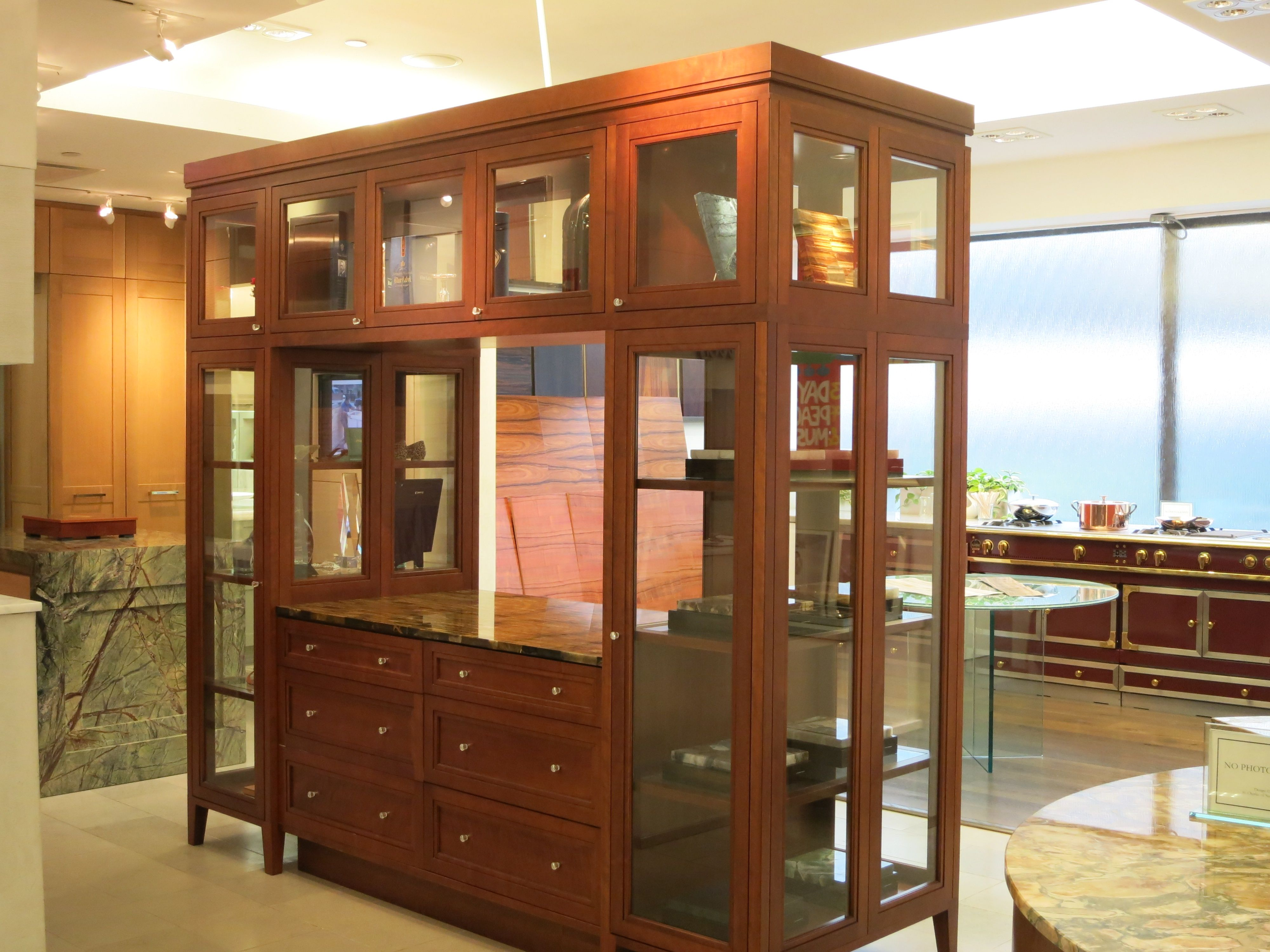 DBS Gallery Room Divider | Cabinets for sale, Divider ...