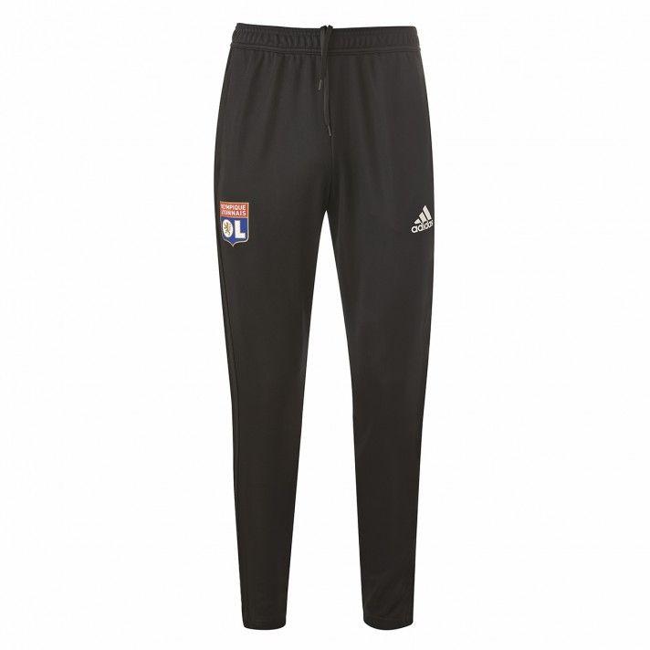 5401d541c8da5 Pantalon Entrainement Adidas Olympique Lyonnais Adulte Noir 2018 2019   adidas  olympiquelyonnais  OlympiqueLyonnais
