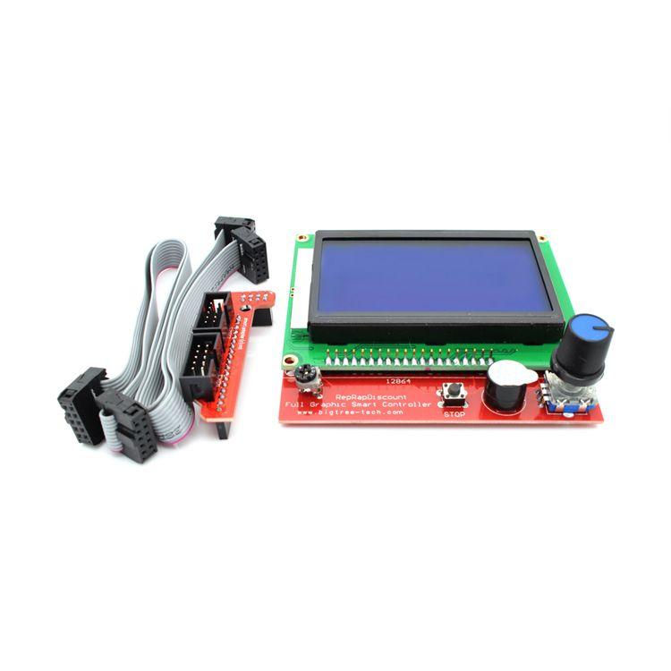 12864 LCD Controller pcb board | Main Boards & Drivers & LCD Screen