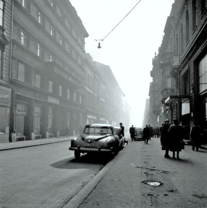 Zagreb 1955 Gunduliceva Zagreb Croatia Scenery