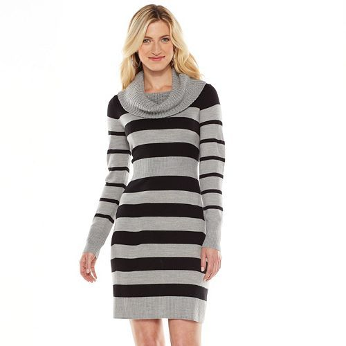 Apt. 9® Cowlneck Sweater Dress - Women's | Style for Her ...