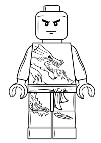 Lego Ninjago Zane Coloring Page Free Printable Coloring Pages Ninjago Coloring Pages Lego Coloring Pages Coloring Pages For Boys
