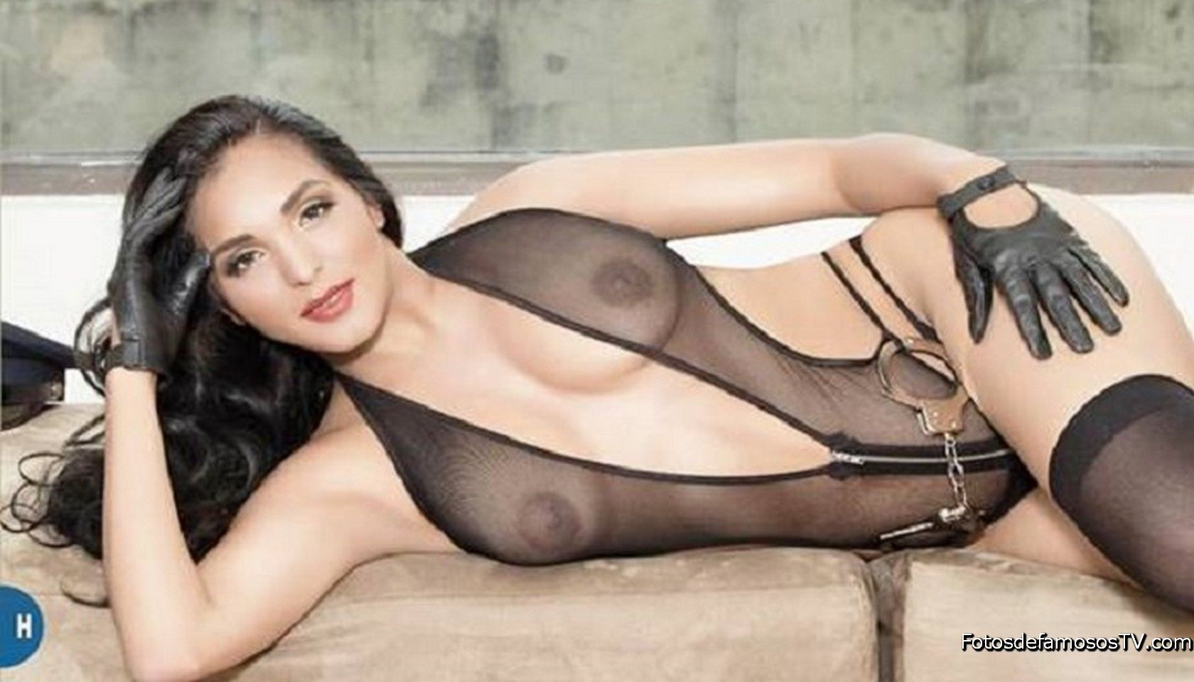Nidia Garcia, La Polisex Desnuda En La Revista H  Fotos -5903