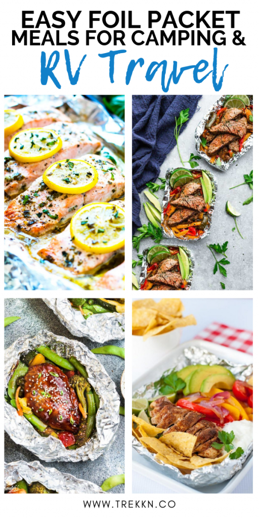 11 Foil Packet Meals for Easy RV Cooking images