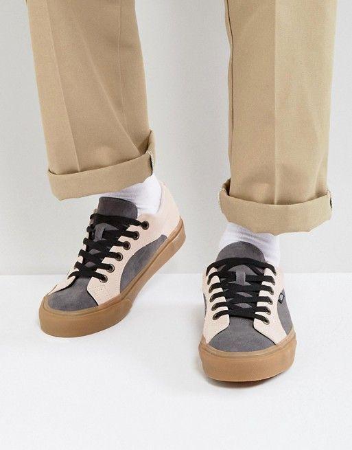 Vans Lampin Suede Sneakers In Pink VA38FIOIO  b32923da6
