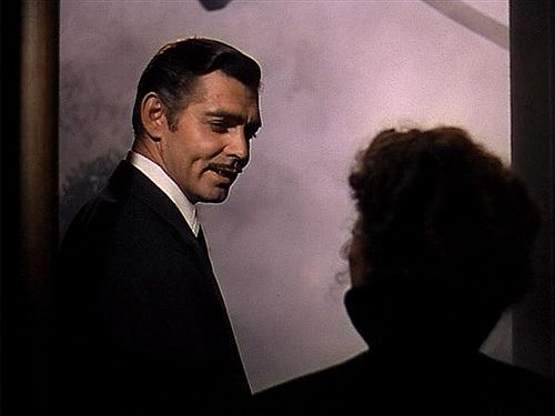 """""""Frankly, my dear I don't give a damn."""" Probably THE most famous movie line, EVER!!! Clark Gable-Rhett to Scarlett - Vivien Leigh - Gone With The Wind 1939"""