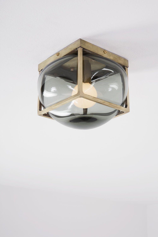 Alelier de Troupe. Bulle Brass Grey Small | Lighting | Pinterest | Luces