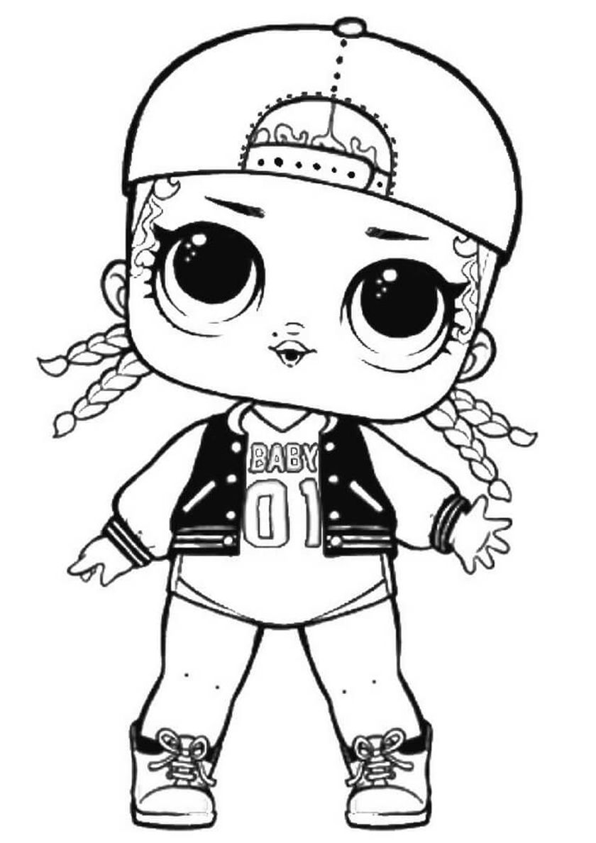 15 L O L Series 1 Coloring Pages For Kids More Printable Pictures On Babyhouse Info M C Swag Free Coloring P Cool Coloring Pages Lol Dolls Coloring Books