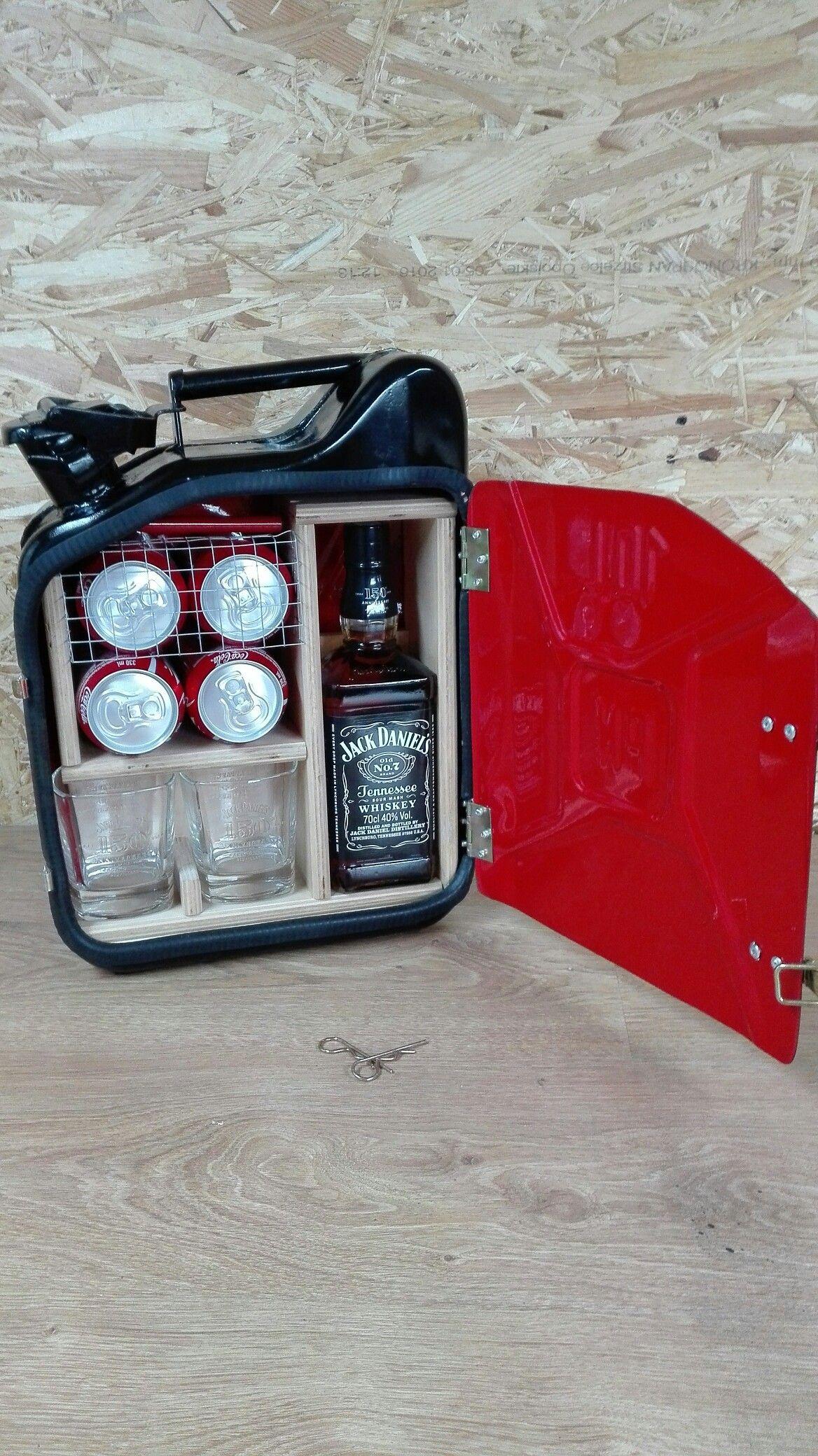 Mini bar, kanister prezent | Selber Bauen | Pinterest | Mini bars ...