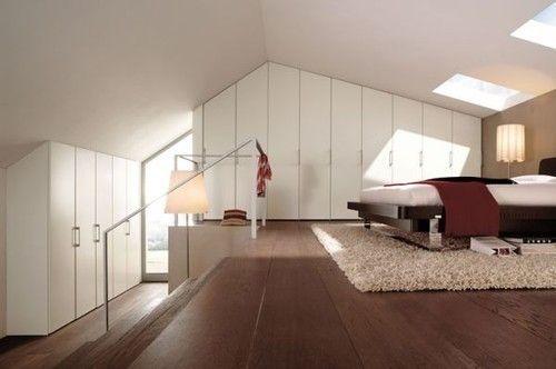 Foto 1740 Idee für das Schlafzimmer im Dachgeschoss - luxus schlafzimmer design
