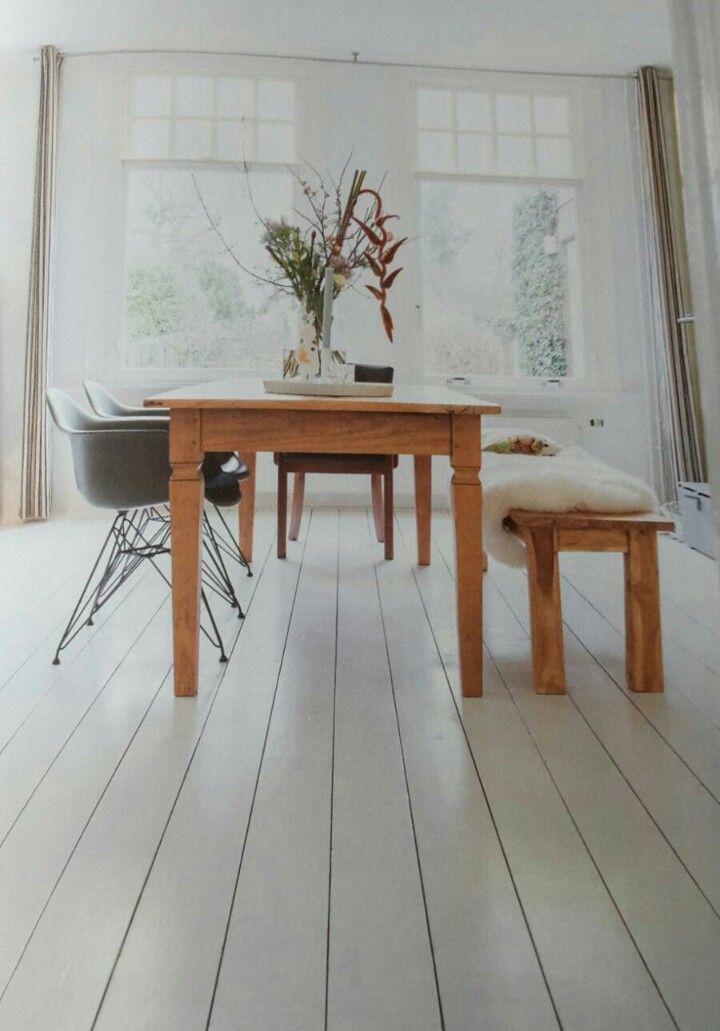 Mn huidige tafel maardan kaal en veeeel leuker | interieur | Pinterest