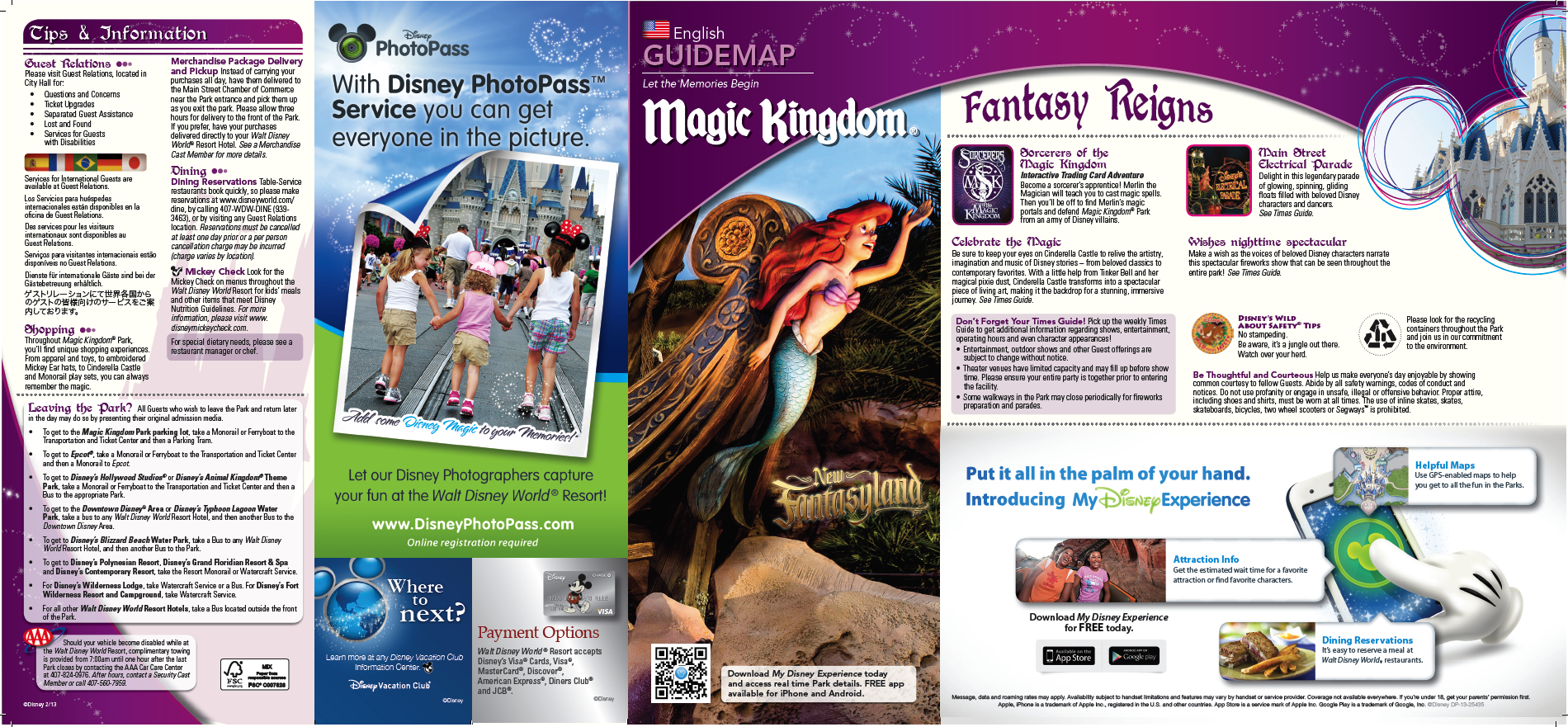 Disney World Florida Map.Check Out The New Disney World Park Maps Disney Tips Best Of
