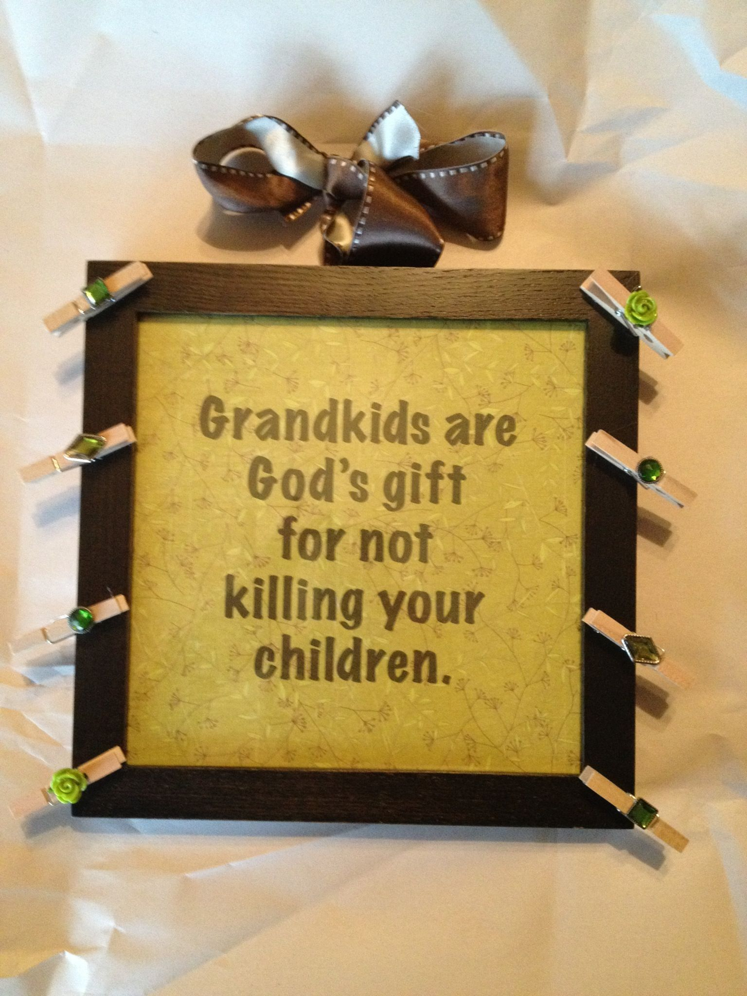 Nana\'s birthday gift | Crafts | Pinterest