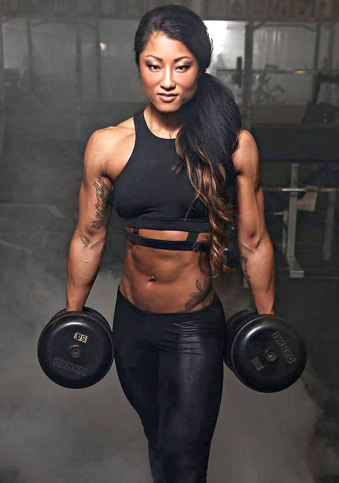 asian female fitness models 3 personal trainer online