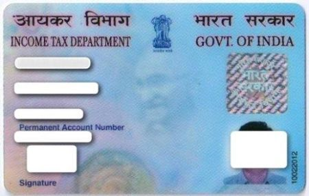 Online Pan Card Correction Cards Pan Status