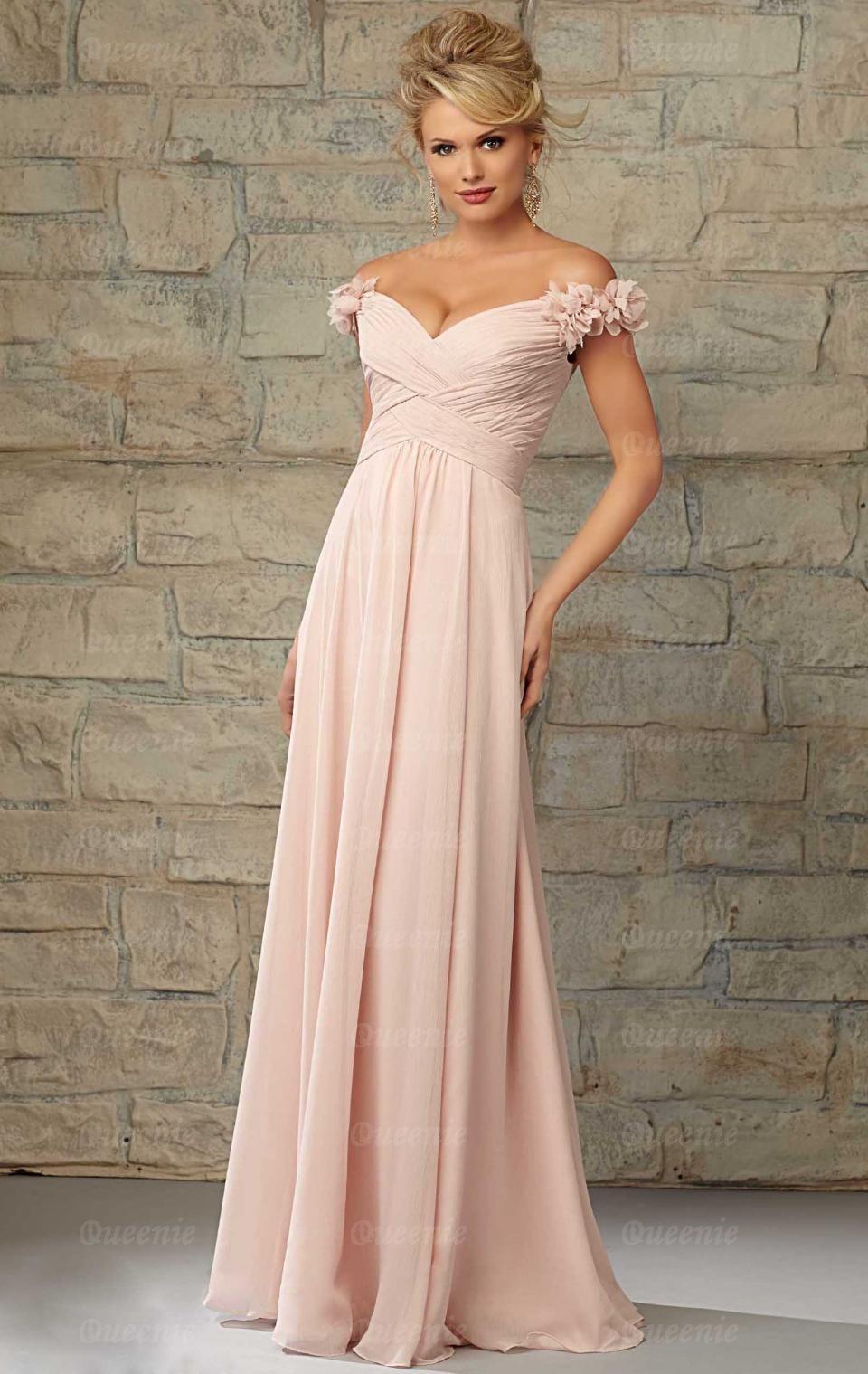 Elegant chiffon pink bridesmaid dresses pink bridesmaid dress elegant chiffon pink bridesmaid dresses ombrellifo Image collections