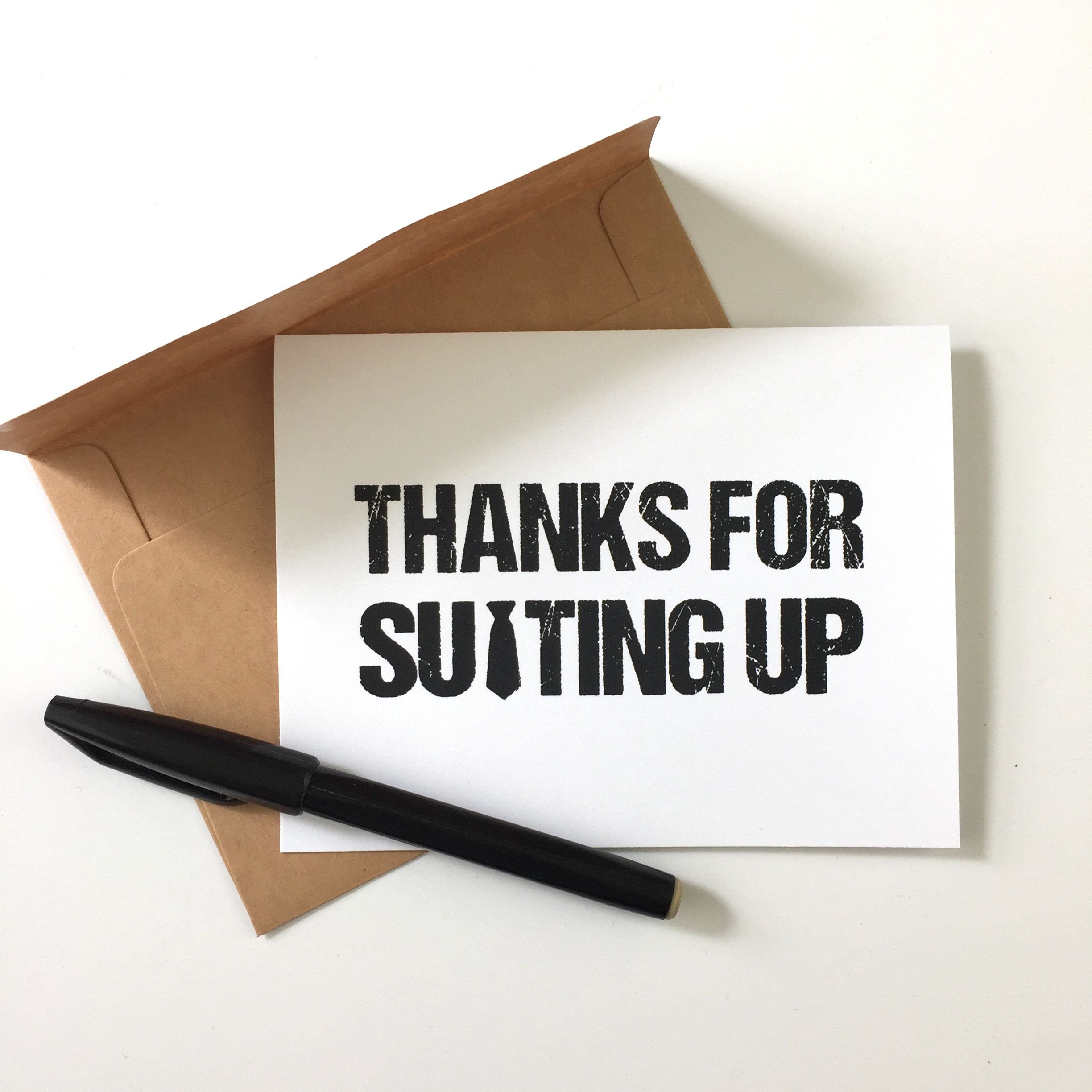 Thanks For Suiting Up Thank You For Being My Groomsman Etsy Groomsman Card Be My Groomsman Thank You Cards