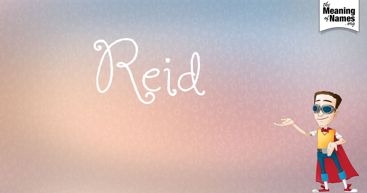 Fun facts, hidden #NameMeaning, beautiful revelations & #pretty name poster about #Reid. This is 1 out of 10 character designs to collect. Everyday a new design will be created for this name. Did you get the young businessman?
