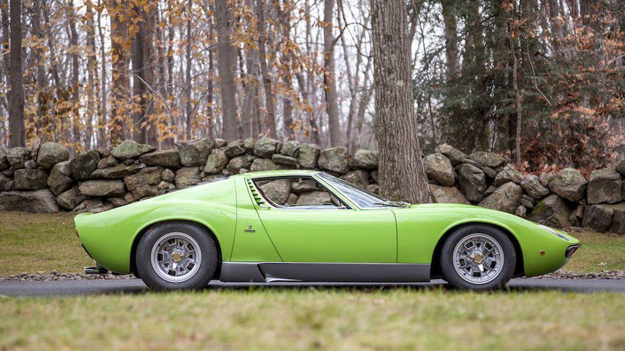 Photos 1969 Lamborghini Miura P400s Sv Specification Automotive