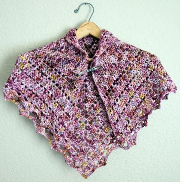 Brombeere Crochet Schal | Anleitungen | Pinterest | Capilla