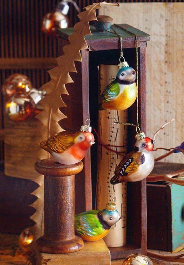 Modern Design: antique glass bird tree ornaments - birds ...