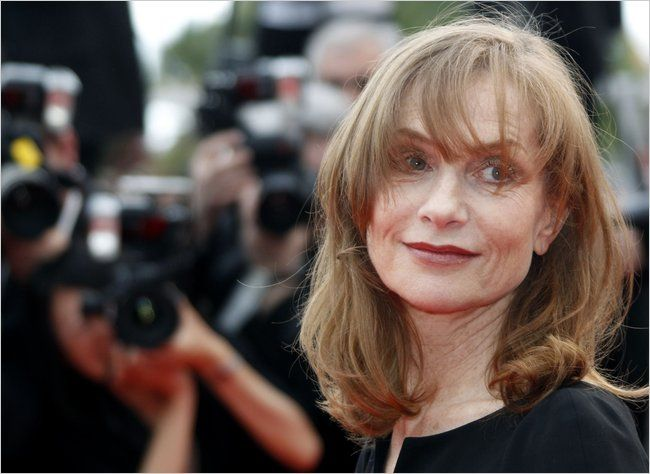 Frenchwomen's Secrets to Aging Well - The New York Times - The actress Isabelle Huppert, 57.  Not gray yet aging gracefully.  (Interesting article)