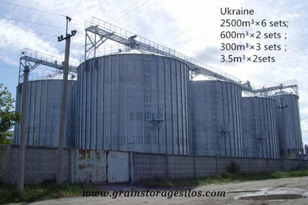 Flat Bottom Silos Was Successfully Run In Ukraine Shelley Engineering Silos Grain Storage Bottom