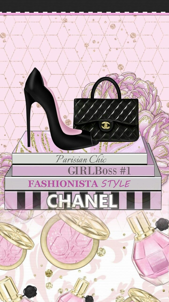 Wallpaper... By Artist Unknown... Chanel wallpapers