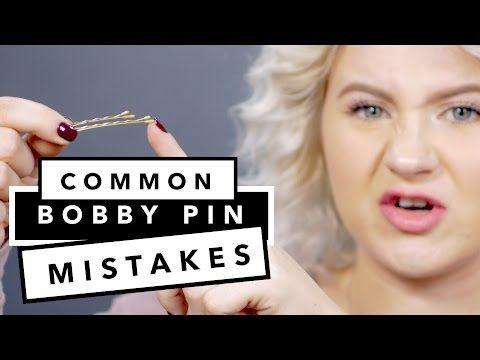 11 Super Easy Hairstyles With Bobby Pins For Short Hair Milabu Youtube Hair Styles Bobby Pins Super Easy Hairstyles