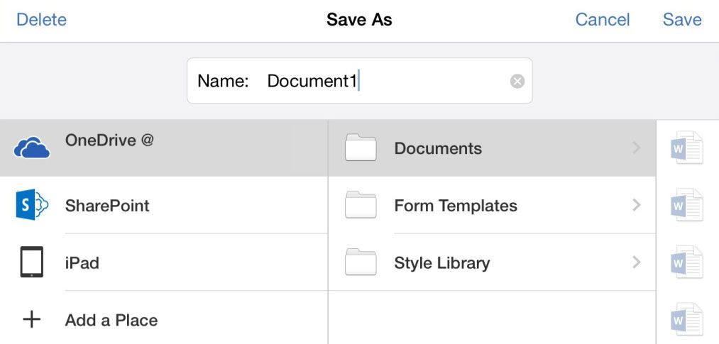 How To Save Microsoft Office Files Locally On Ipad Microsoft Office Microsoft Ipad