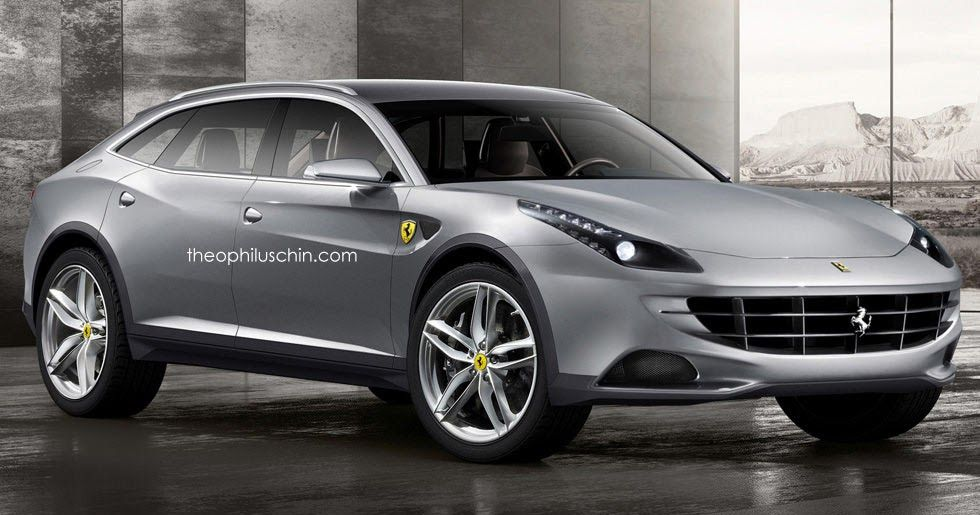 Ferrari Crossover Reportedly Coming In 2021, Could Be A