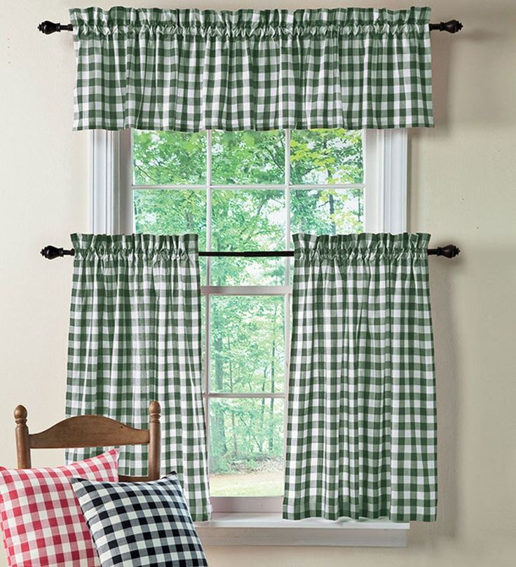 Gingham Check For Kitchen Decoration In 2019 Gingham