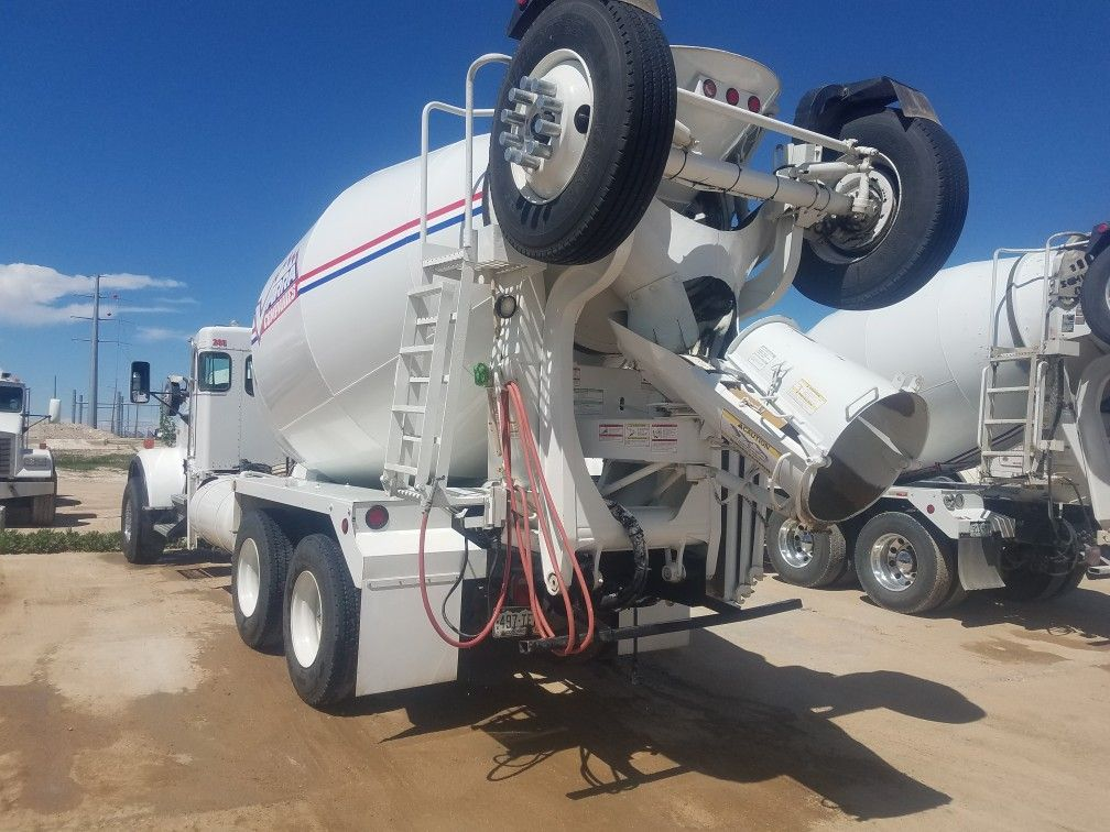 And the definiton of a clean mixer truck mixer truck