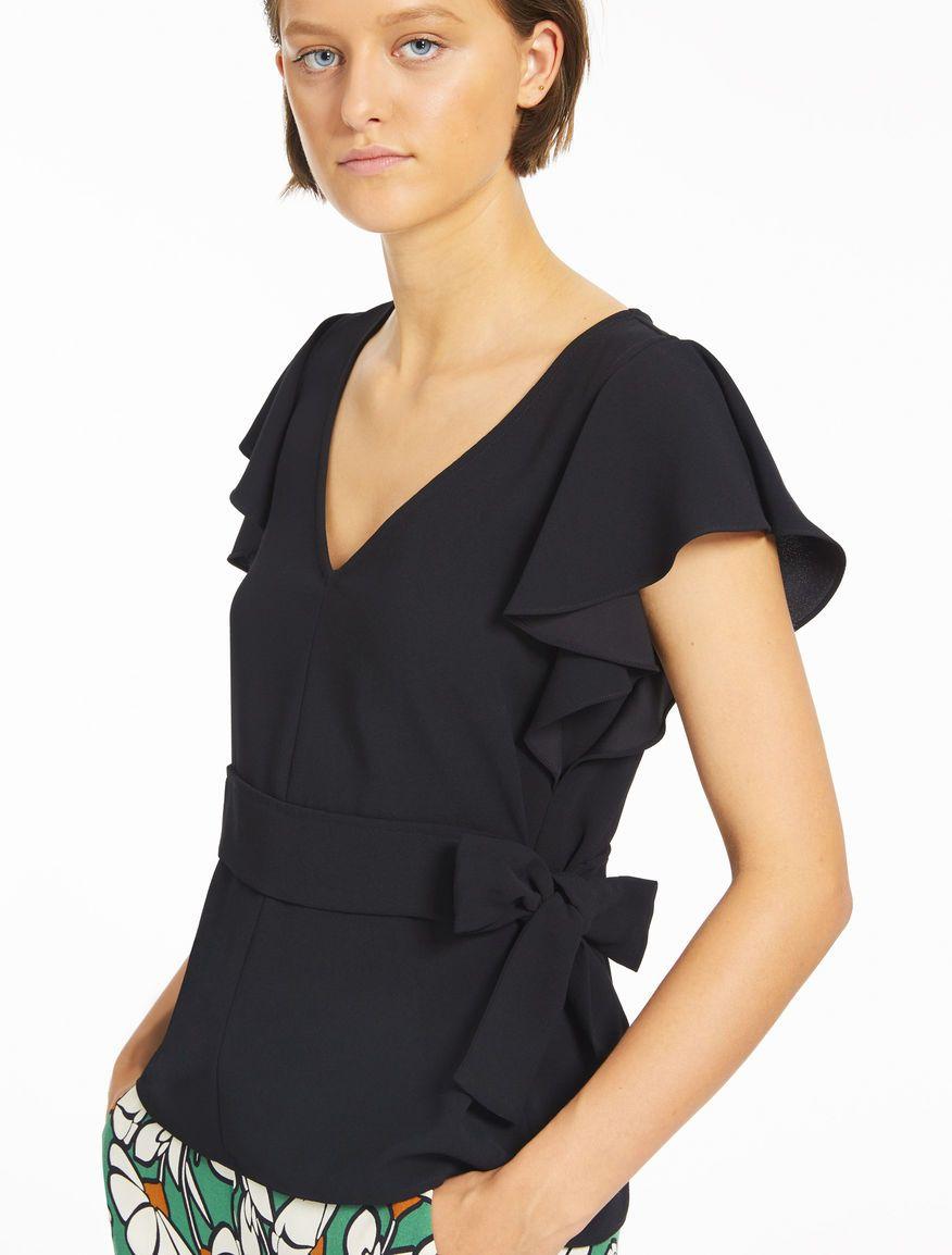 vendita calda online 00f95 79f30 Top fit & flare, nero - Marella | Clothes, Women, Tops