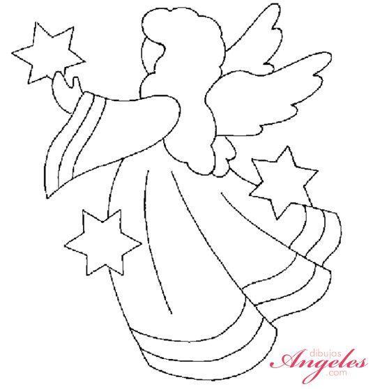 Dibujos De Angeles Para Imprimir Angelitos Para Imprimir