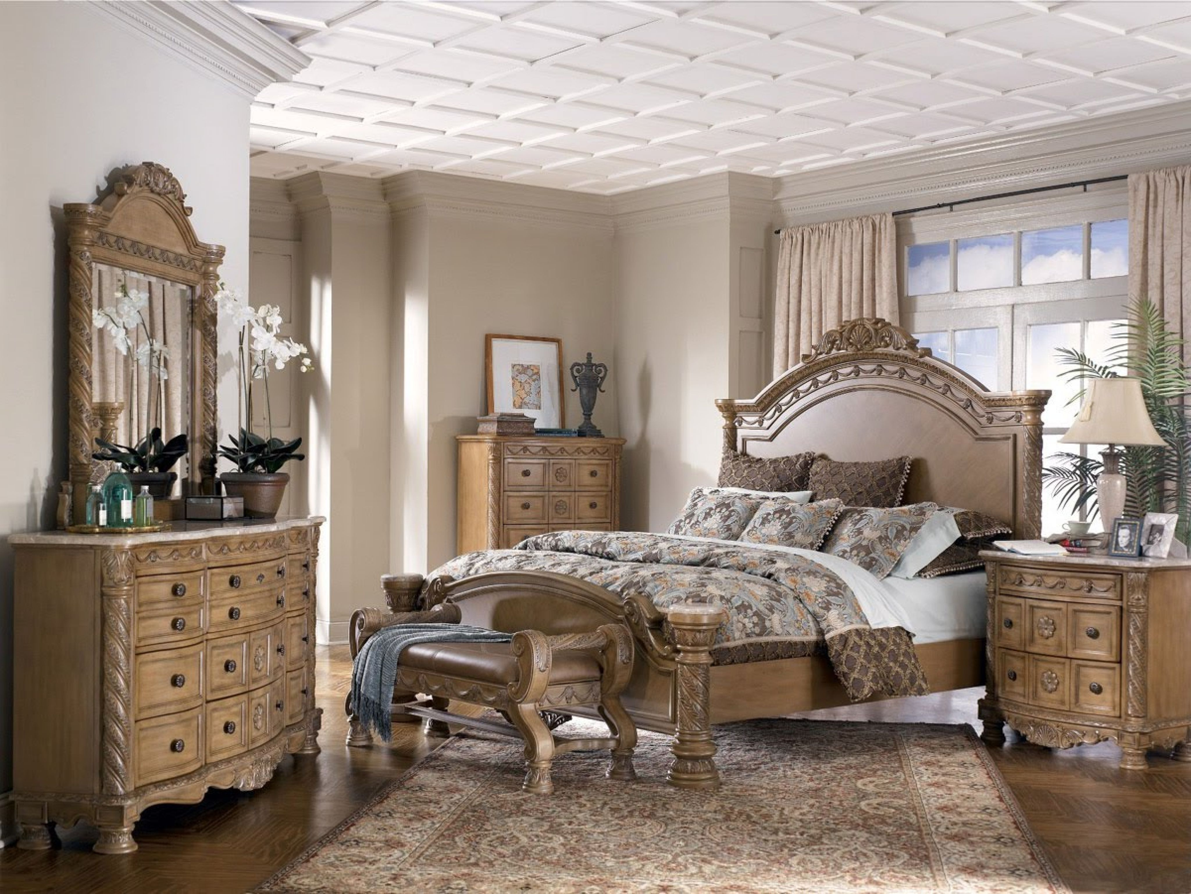Go green with our new reclaimed teak western decor furniture available - Ashley Furniture Bedroom Set Interior Paint Color Trends Check More At Http