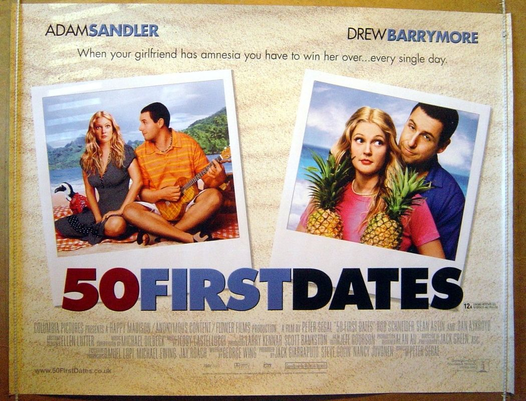 50 First Dates Quotes Favorite Films Stars Pinterest Movies