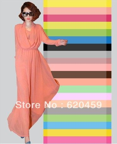 Clotheslining Impressive Aliexpress  Buy Mulberry Silk Chiffon Fabric For Senior Clothes Decorating Design