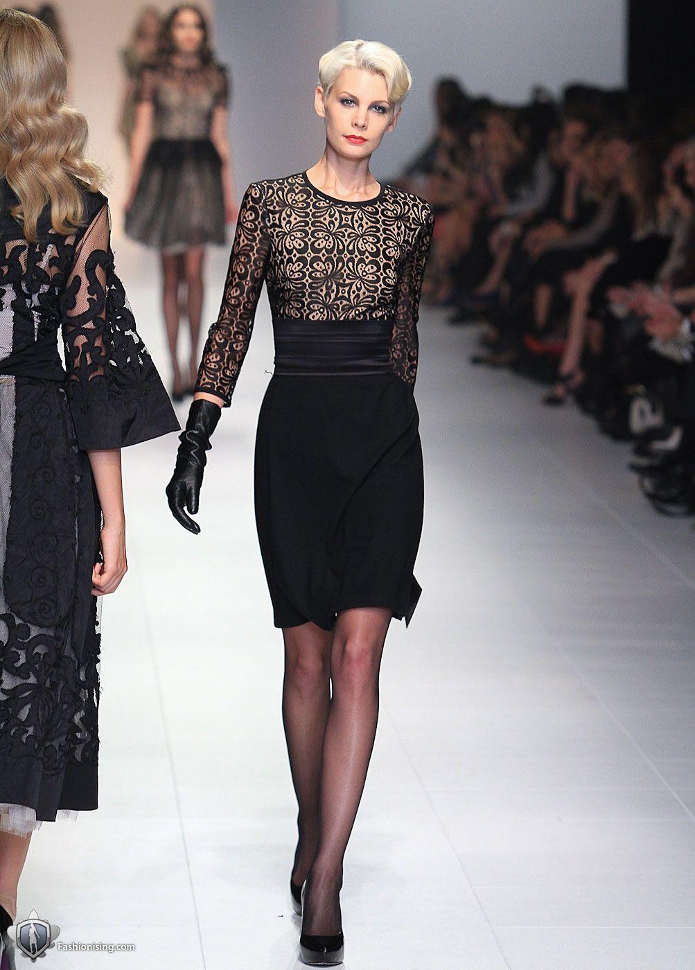 Collette Dinnigan - black dress   Style   Lace dress black ...