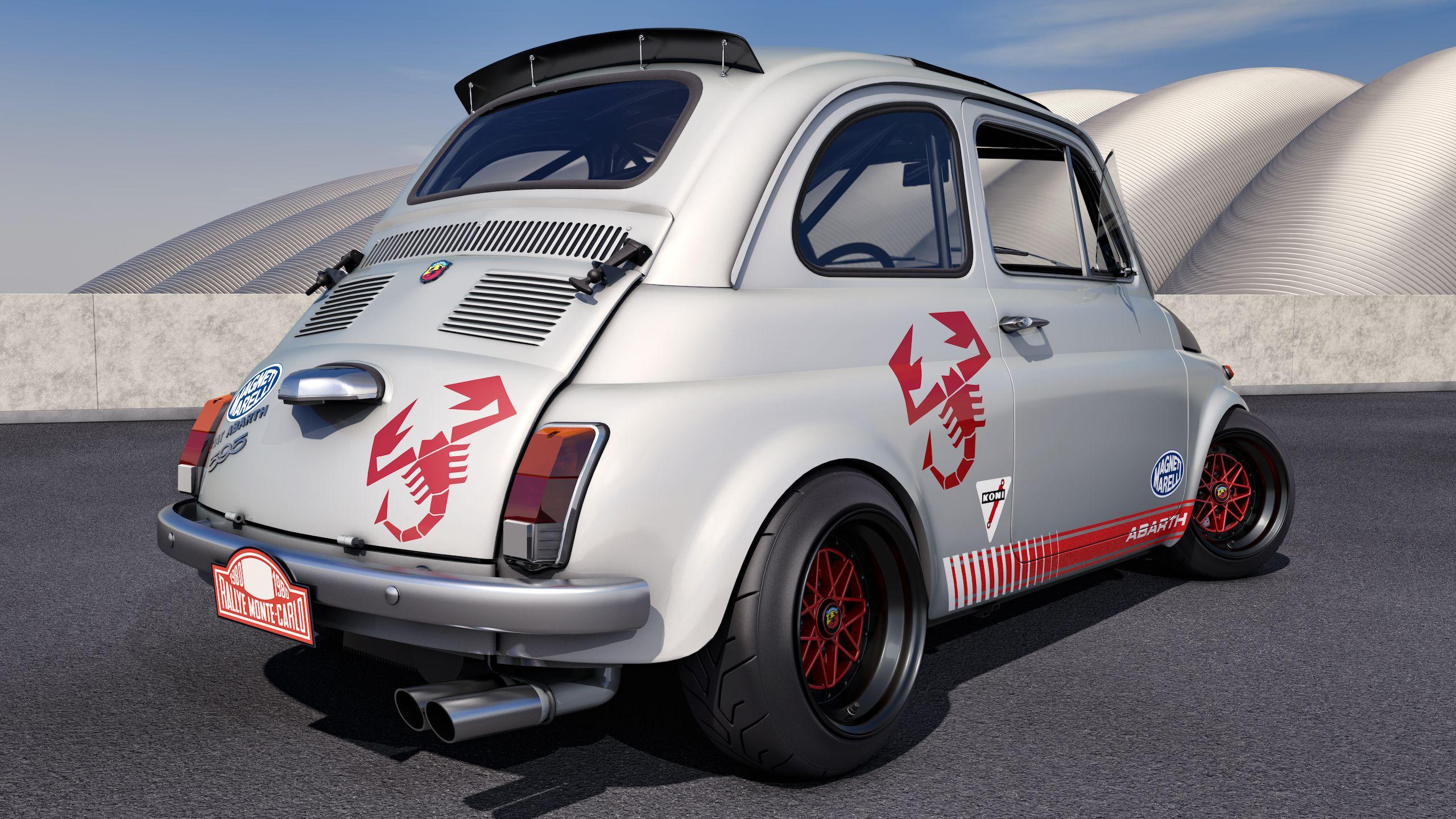 1968 Fiat Abarth 595 By Samcurry Deviantart Com On Deviantart