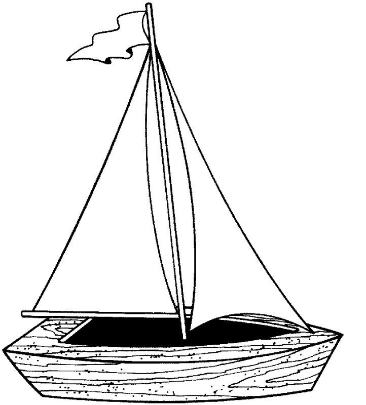 sailboat pictures sail boat coloring page