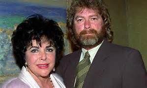 Elizabeth Taylor and Husband, Larry Fortensky