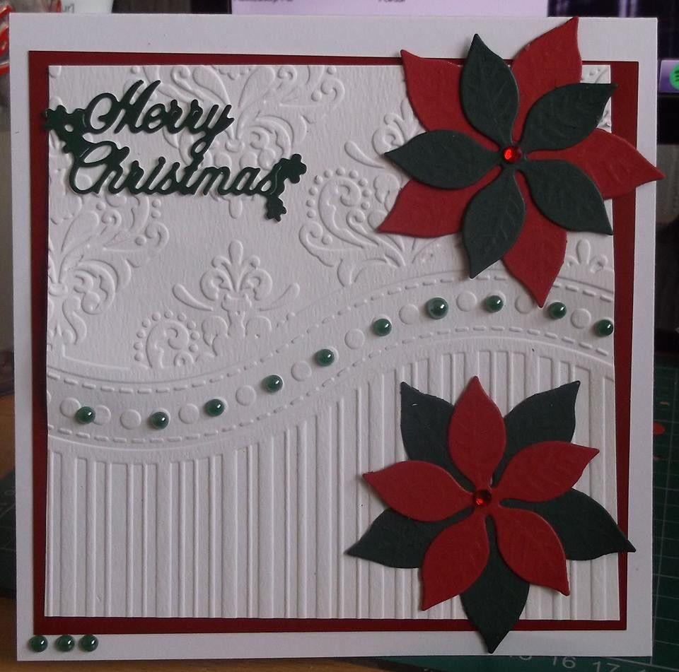 Card Making Ideas Christmas Free Part - 29: Christmas Card Using That Folder