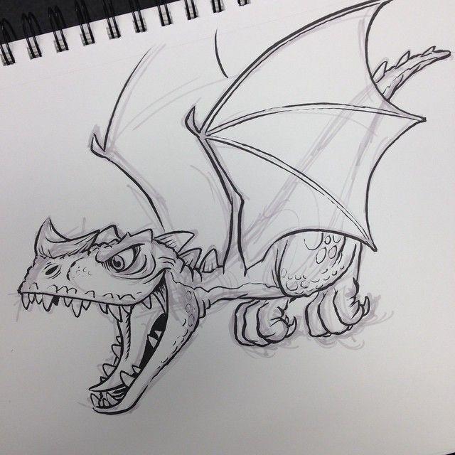 Dragon Drawing Sketch Art Alphabet Activity Letter D