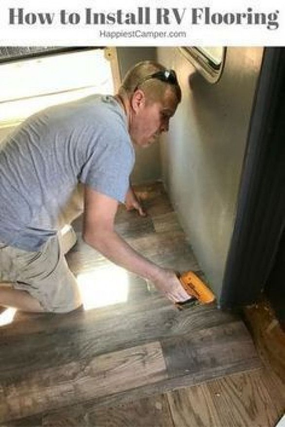 How to install flooring in a RV or camper