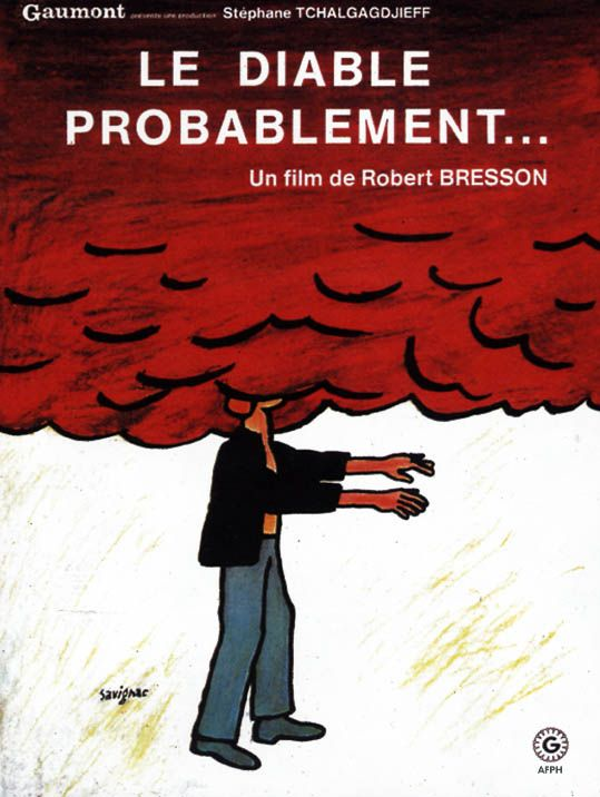 Le Diable Probablement August And Everything After Robert Bresson Bresson Movie Posters